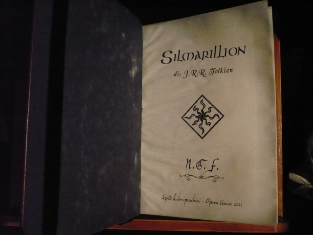 Il Silmarillion (Tolkien)  opera unica