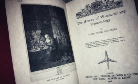 The History of Witchcraft and Demonology – by Montague Summers – Replica Edizione 1926
