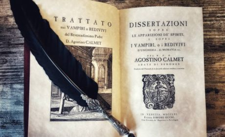 Dissertations about the Vampires and Spirits – A. Calmet, venetian edition 1756