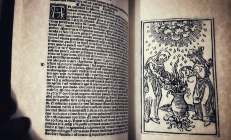 MALLEUS MALEFICARUM – edition 1519. The witch's hammer